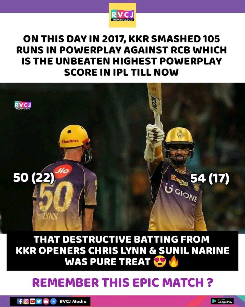 On this day 😍  @lynny50 and #sunilnarine   #KKRvsRCB #KKRHaiTaiyaar #IPL2021 #iplcancel