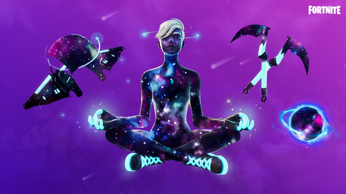 Take a journey through the galaxy towards the victory that lies in the light of the stars!  Grab the Galaxy Pack in the Shop now! https://t.co/rgOqDYgJjv