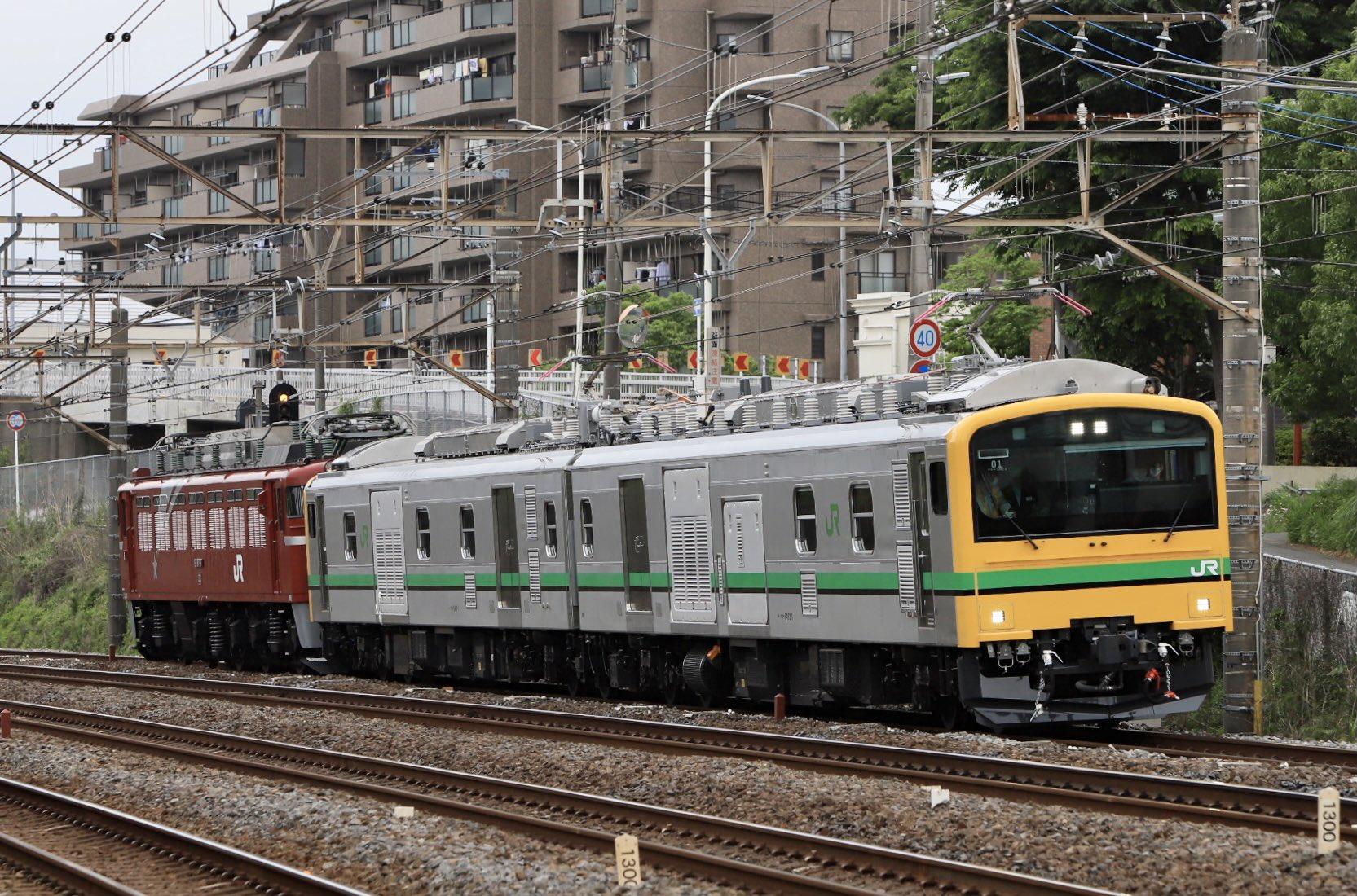 【電車が機関車を牽く時代】E493系試運転 EF81-98無動力を牽引