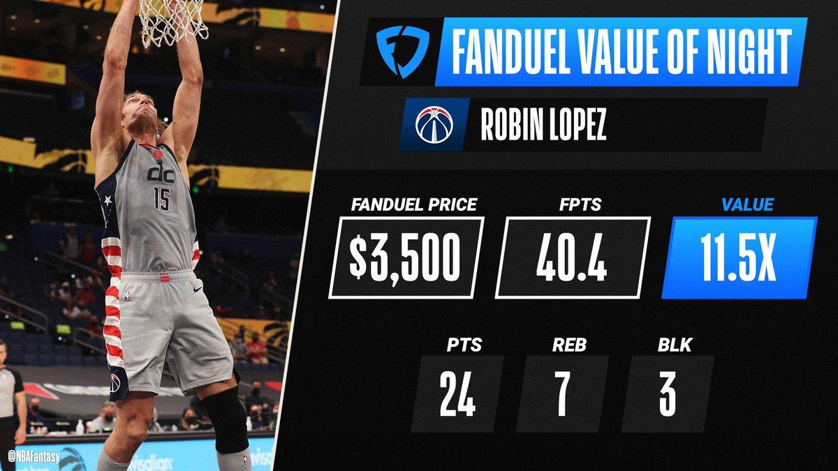 @NBAFantasy's photo on Robin Lopez