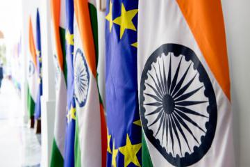 EU, India try again to clinch trade deal, sidelining China Photo