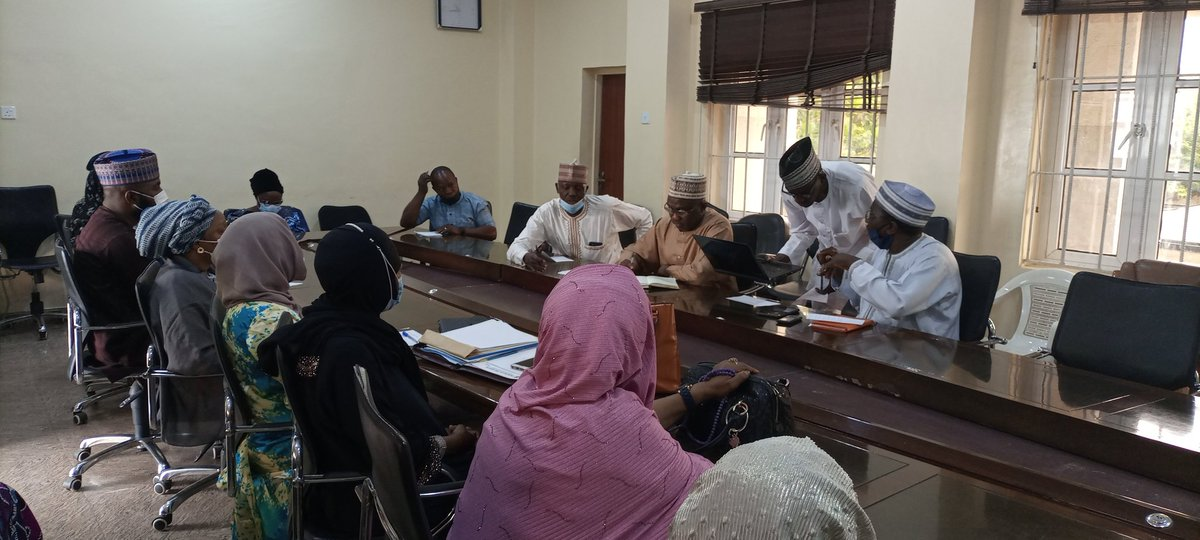 In an effort to ensure quality feeding in Boarding Public secondary schools across the state, KDSG thru @Kaduna_MoE holds timely review meetings with Caterers to discuss new developments, challenges and ways forward, in this regard,