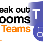 Image for the Tweet beginning: Break out rooms in #MicrosoftTeams
