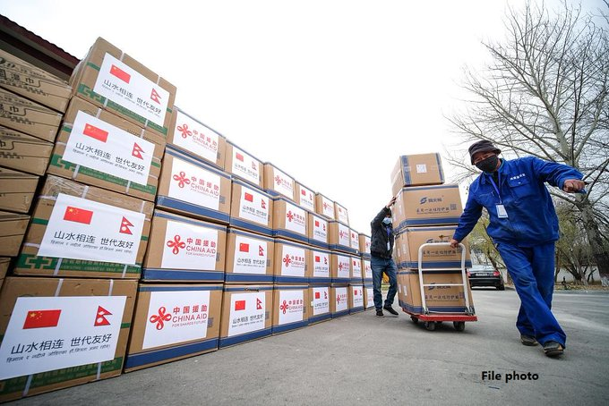 China to send medical supplies to Nepal as it grapples with Covid-19 second wave Photo