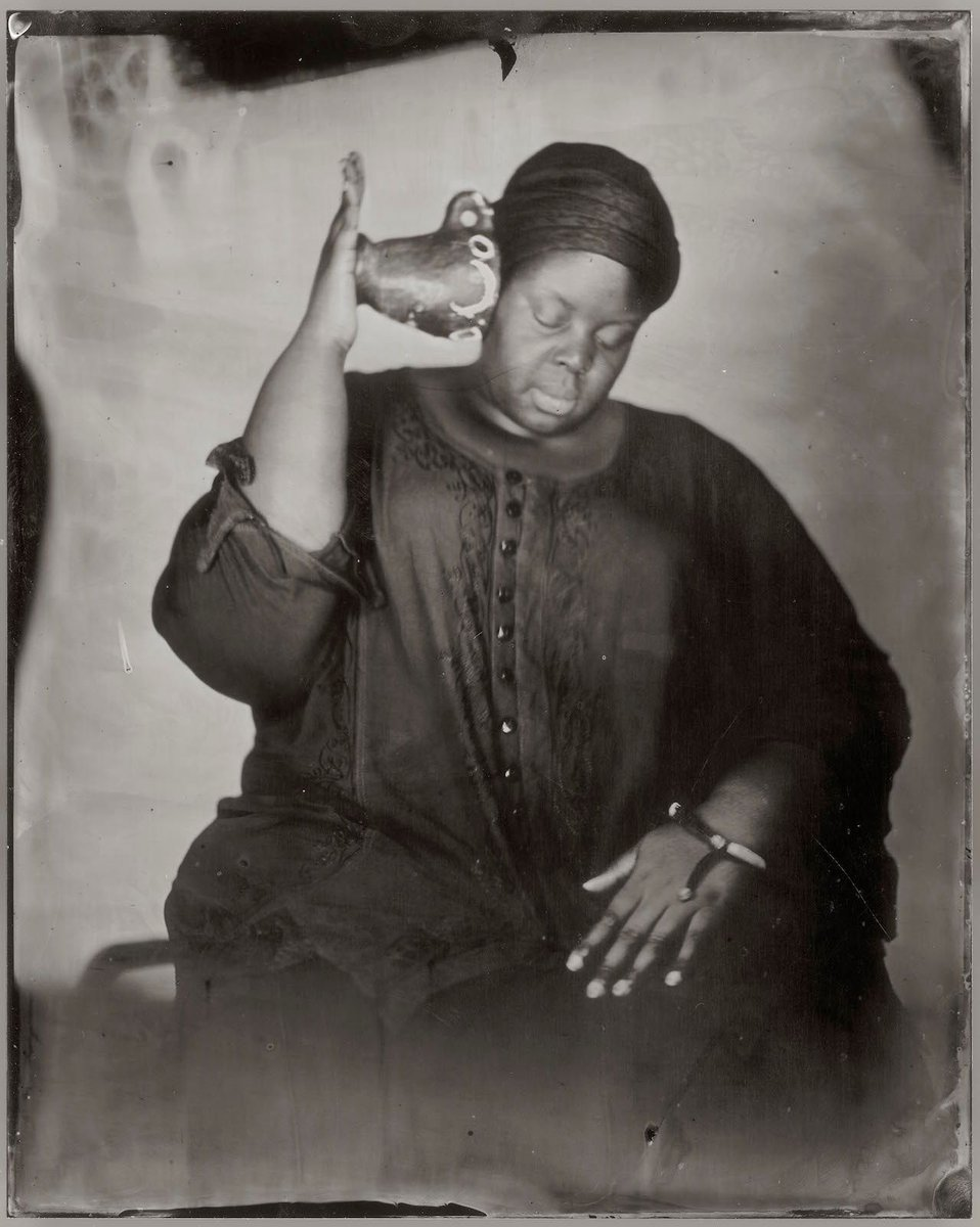 SELF PORTRAIT from series DWELLING. IN THIS SPACE WE BREATHE, Khajida Saye, date unknown https://t.co/4PMyVmAM6N