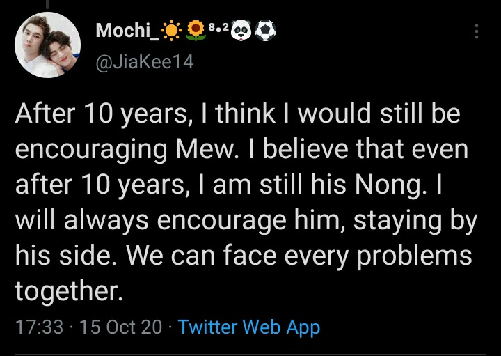 """""""even after 10 years, I am still his Nong"""""""