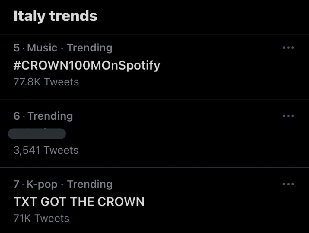 TXT GOT THE CROWN