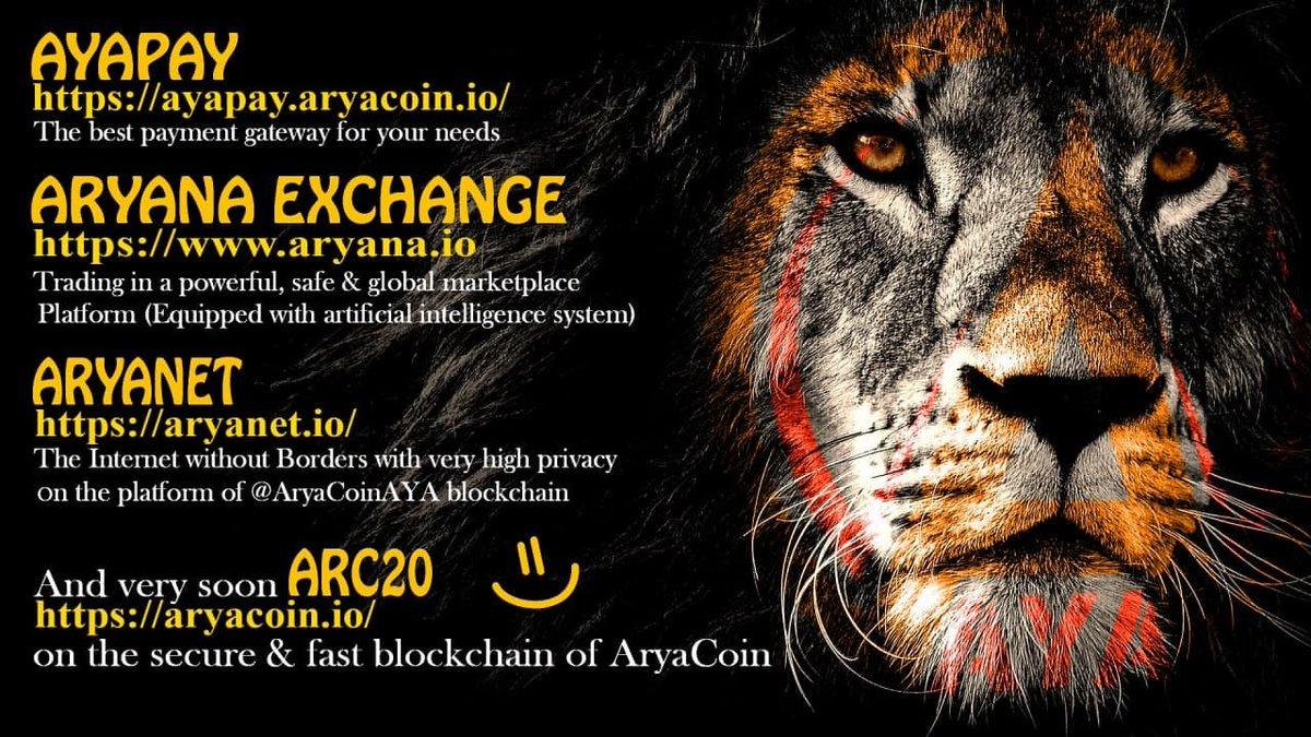 @wolfofwallst @AryacoinAYA  #AYA 💪 🔥 🚀  CEO @QParsa_AYA https://t.co/40PNevWqGm