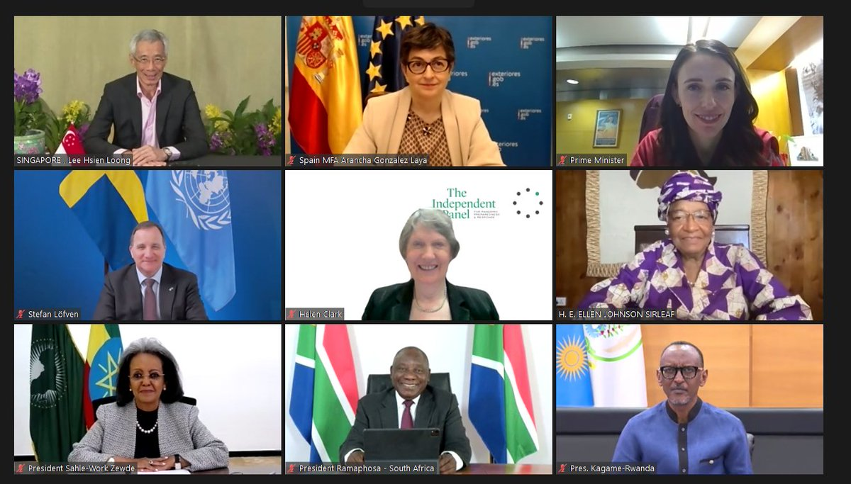 This week my fellow @TheIndPanel Co-Chair @HelenClarkNZ and I met with heads of state and government to discuss the Panel's key findings. Only by working together can we prevent a future pandemic. Read the messages of support here: https://t.co/rIWVzSuqaD #LastPandemic https://t.co/sfap68ITFd