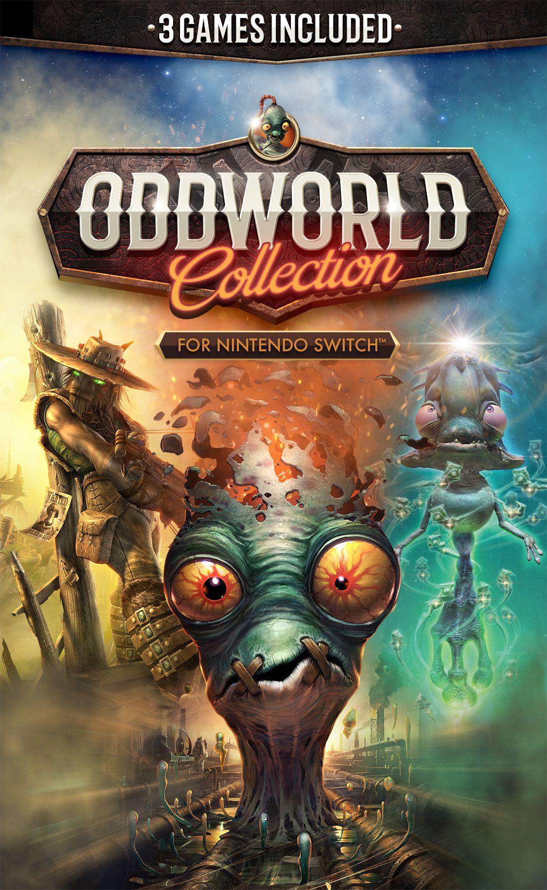 Fecha lanzamiento Oddworld Collection Nintendo Switch