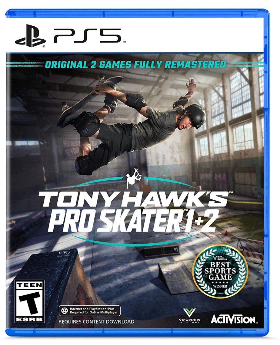 Tony Hawk's Pro Skater 1+2 PS5  Was $49.99 Now $41.88  Amazon USA