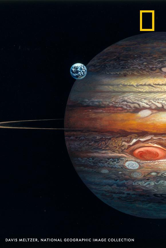 Happy #NationalSpaceDay! Take a look at this stunning diagram showing the materials and depth of Jupiter's composition https://t.co/7KdguIF1tJ