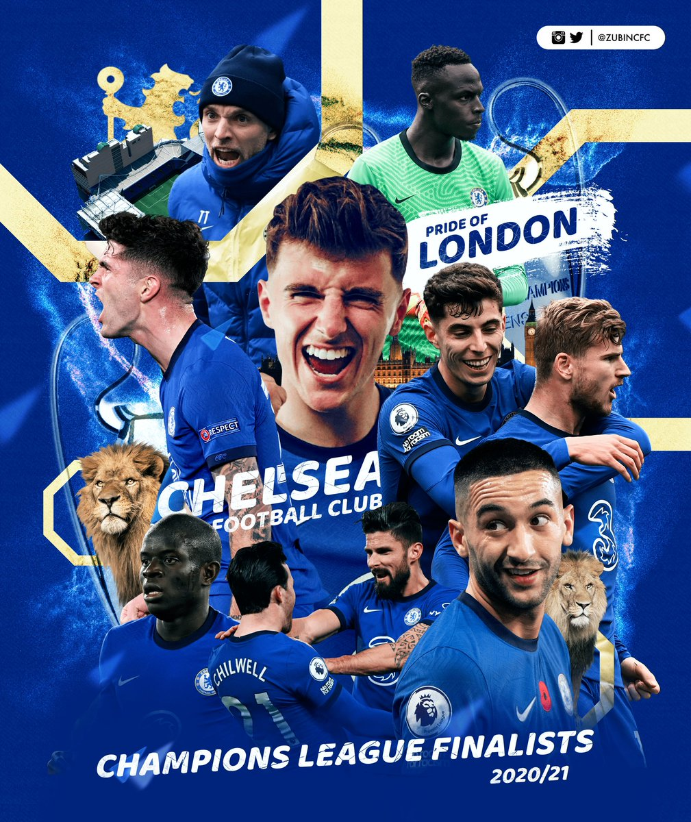 Still can't believe we are going to Istanbul 🤩🔥  #Chelsea #smsports #UCL https://t.co/6KKnlYJX6J