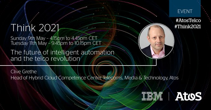 [#AtosTelco] Join us at IBM's #Think2021 to explore telco #cloud market drivers, key...