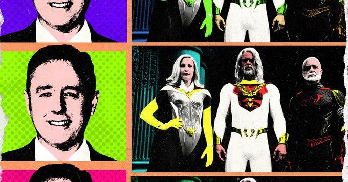 Mark Millar and Netflix Gamble on 'The Godfather II' of Superhero Shows Photo