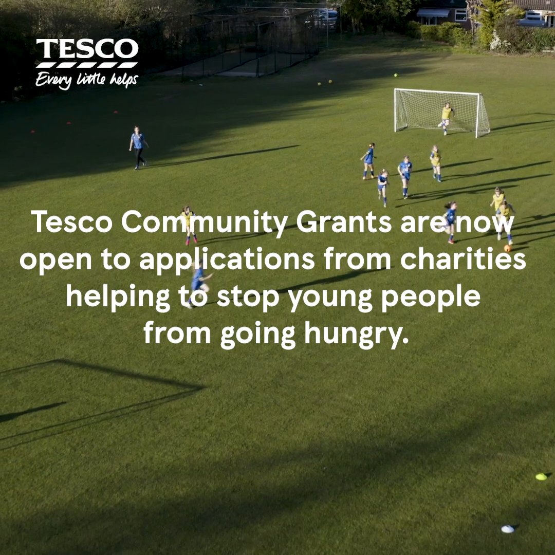 This summer, we're making £2M in Community Grants available for organisations that help stop young people from going hungry.  So, if you know a charity or project in your local area that could benefit from a grant, why not tag them below? https://t.co/BgQxSqcroh