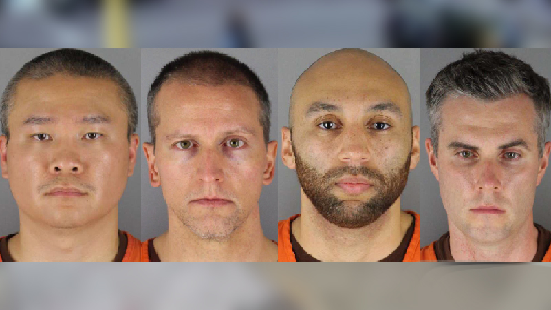 Four ex cops indicted on US civil rights charges in George Floyd death