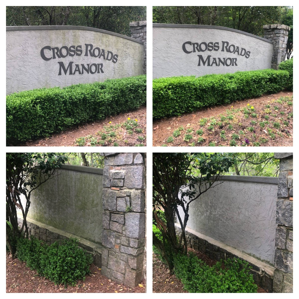 Check out these before and after pictures from a recent pressure washing project. https://t.co/SNjRRXlJgL #Repco #beforeandafter #pressurewashing #clean #signs #subdivision #Atlanta #project https://t.co/kOdAT9QbJg