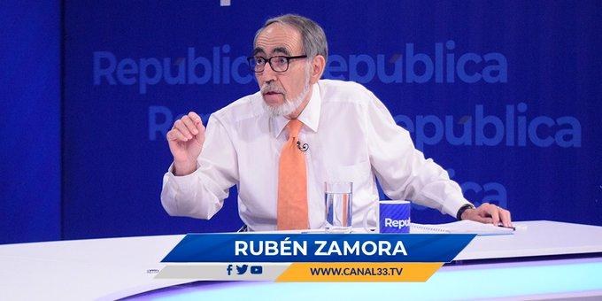 Rubén Zamora: EEUU podría aplicar sanciones a El Salvador
