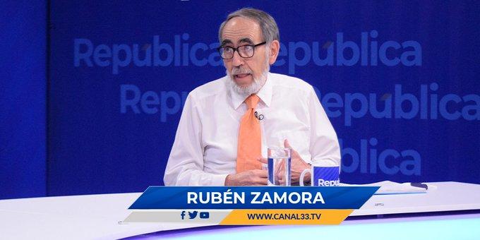 Rubén Zamora asegura que El Salvador carece de política exterior