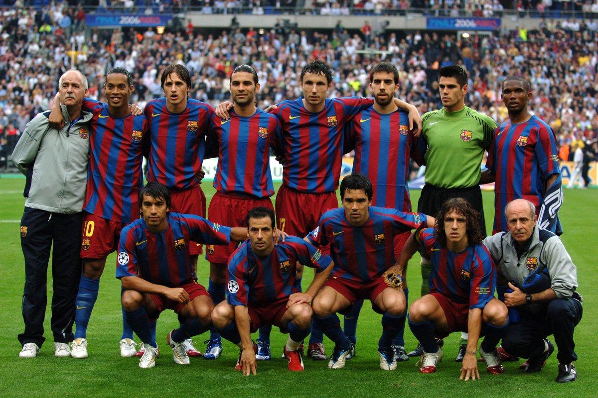 🏆 Aquel Barça campeón en 2006  Tu jugador favorito era... 💙❤  #UCL | @FCBarcelona_es https://t.co/yEx5AONQY2