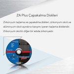 Image for the Tweet beginning: Zirkonyum taşlama ve çapakalma diskleri,