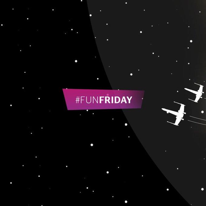 Hoy Tenemos联合国#funfriddeddicado a los fans de #starwars sumate al挑战......