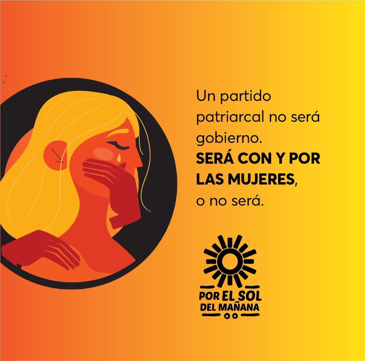 El gobierno de Morena es incapaz de empatizar con la lucha de las mujeres porque entre sus filas se encuentran agresores, acosadores y violadores. No podemos permitir que sigan gobernando, #VotoÚtil #VotaPRD #VaPorMéxico https://t.co/Cx7c7BTi8C