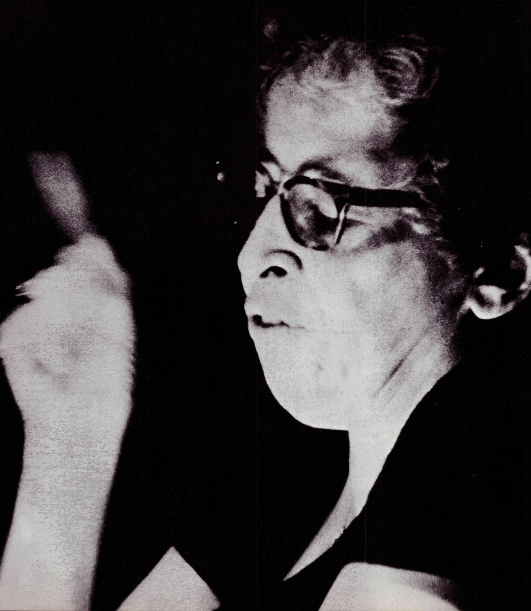 test Twitter Media - Did you know political philosopher Hannah Arendt taught at the Center for Advanced Studies at @wesleyan_u from 1961 to '63? Here she is featured in the '66 Olla Podrida as a guest lecturer when she was faculty at The University of Chicago. #WesArchives #OllaPodridas https://t.co/7RZU5ktjtU