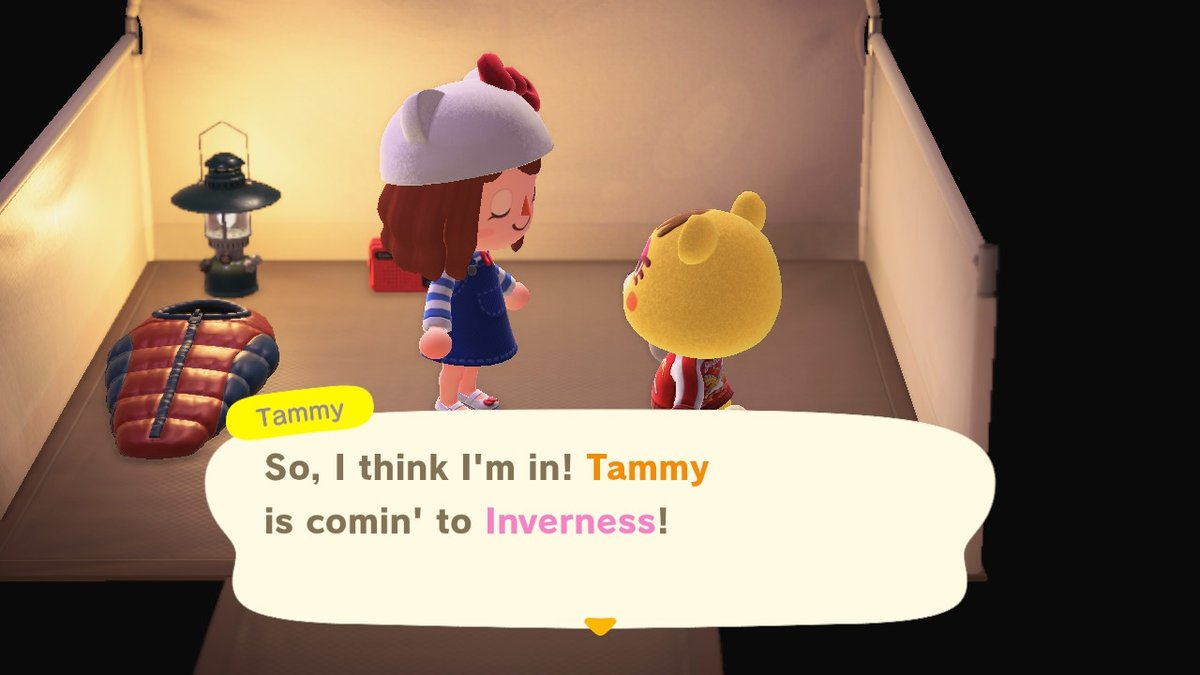 Looking forward to get to know our new friend better! #tammy #AnimalCrossing #ACNH #NintendoSwitch