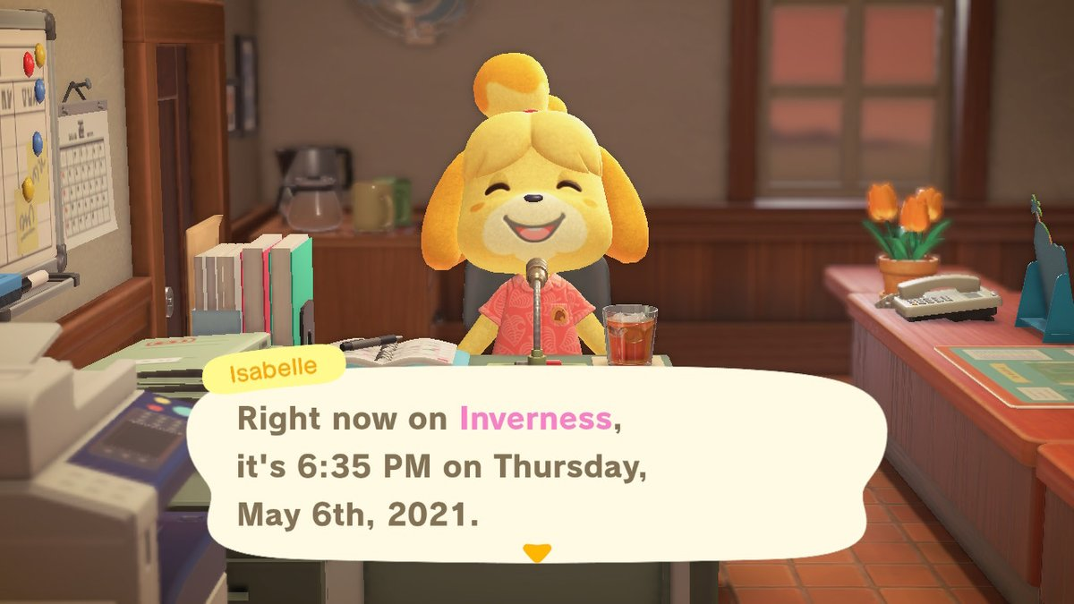 Isabelle welcome our new friend! #isabelle #tammy #AnimalCrossing #ACNH #NintendoSwitch