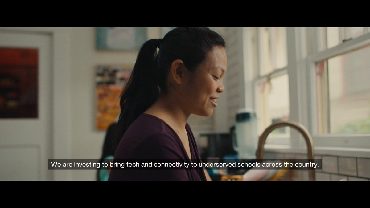 We are investing $3 billion to help those who need it most and close the digital divide. We create the networks that move the world forward. For all. Because we believe no one should be left behind. Learn more at. https://t.co/R1tYsJHIKk #CitizenVerizon https://t.co/L9nT0ngley