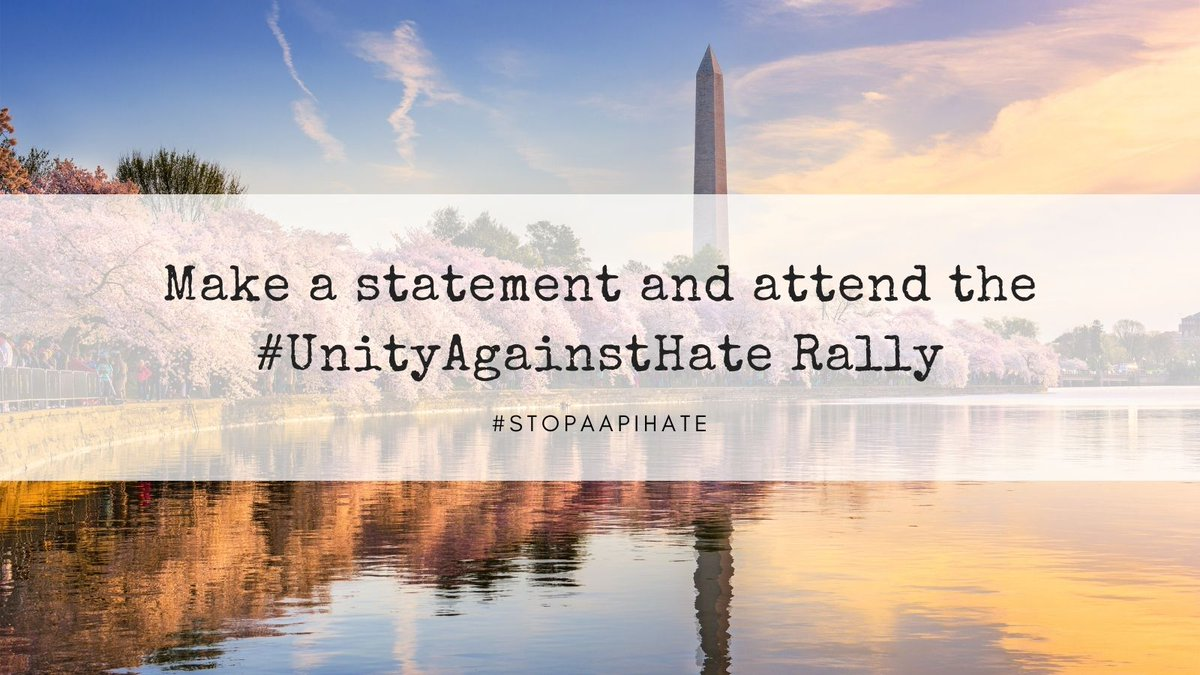We are Americans, regardless of race, ethnicity or gender and unity and peace will always prevail against hate. Make a statement and attend the #UnityAgainstHate Rally. Support the cause https://t.co/vXfzfbodXG https://t.co/NFpWXqqphD