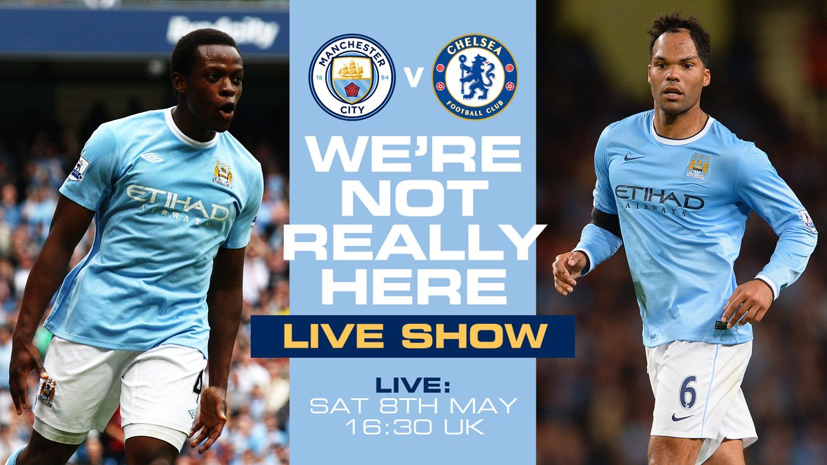 It could be a special day! 🤞  Join @kickback_nedum and @JoleonLescott in the #WNRH studio before, during and after today's clash with Chelsea.  We're LIVE from 16:30 UK time on #ManCity.com, app and here on Twitter! 🔊 https://t.co/ef3LYGcN3C