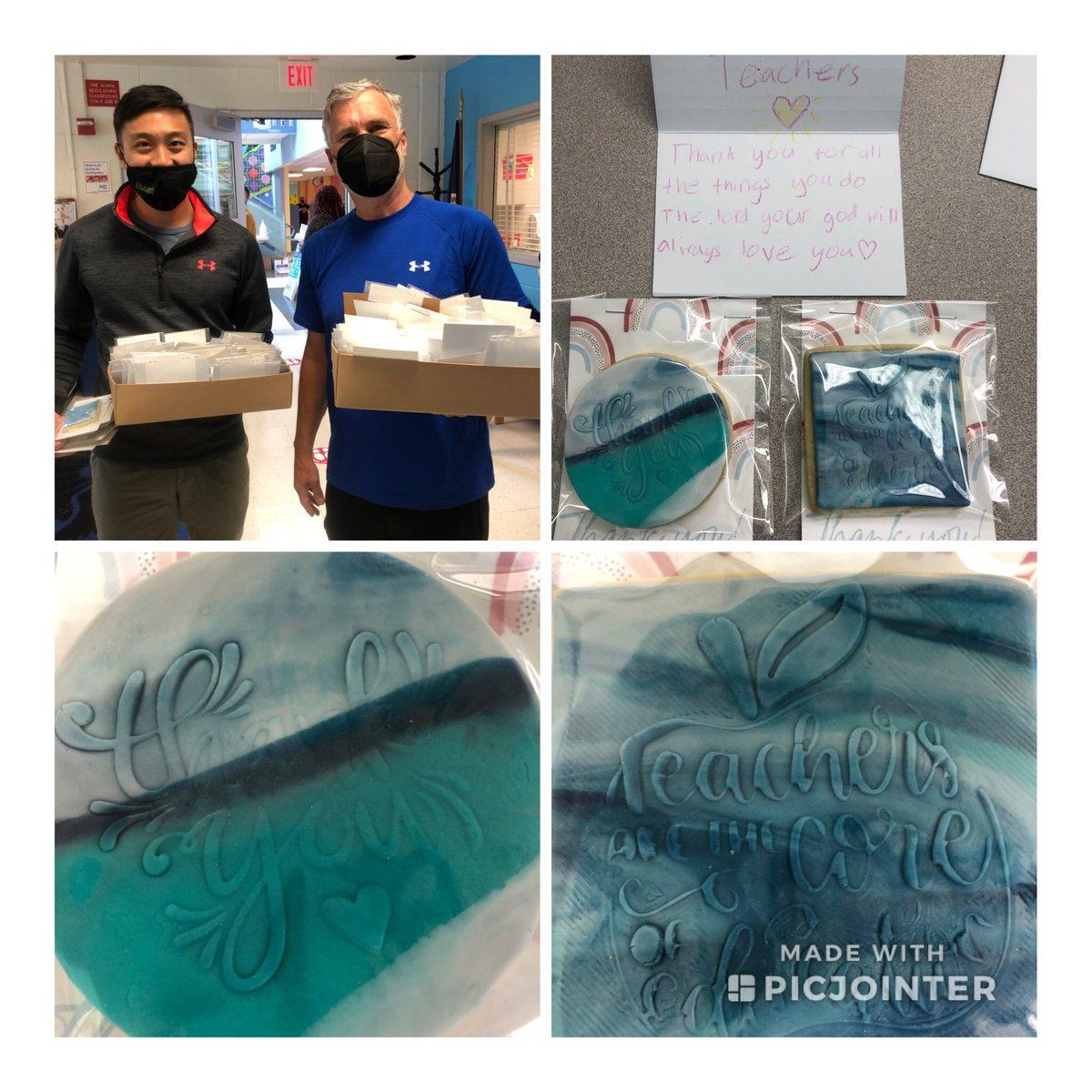 Thank you so much to our friends and neighbors <a target='_blank' href='http://twitter.com/CapitalLife'>@CapitalLife</a>  the cookies are beautiful and just as sweet as the handwritten cards to each teacher! <a target='_blank' href='http://search.twitter.com/search?q=TeacherAppreciationWeek'><a target='_blank' href='https://twitter.com/hashtag/TeacherAppreciationWeek?src=hash'>#TeacherAppreciationWeek</a></a> <a target='_blank' href='http://twitter.com/APSVirginia'>@APSVirginia</a> <a target='_blank' href='http://twitter.com/glebepta'>@glebepta</a> <a target='_blank' href='http://search.twitter.com/search?q=GlebeEagles'><a target='_blank' href='https://twitter.com/hashtag/GlebeEagles?src=hash'>#GlebeEagles</a></a> <a target='_blank' href='https://t.co/AkYuogfsIp'>https://t.co/AkYuogfsIp</a>