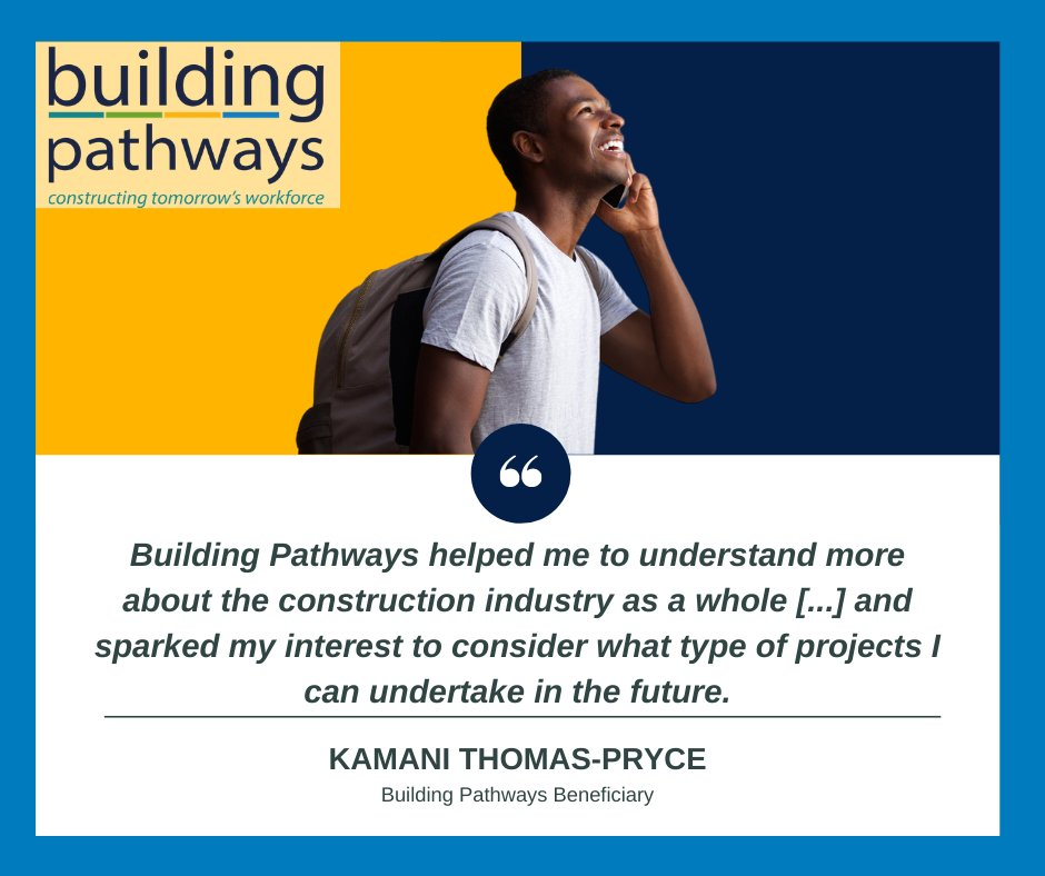 Kamani is an 18-year-old @MertonCollege student who came to us with dreams of being an electrician   Read his story below!  https://t.co/CDy48xB6Cu  @jmurphyandsons @WatesGroup  #LoveConstruction #Careers #Training #Online #ConstructionUK  #CV  #CSCS #Mentoring #Employability