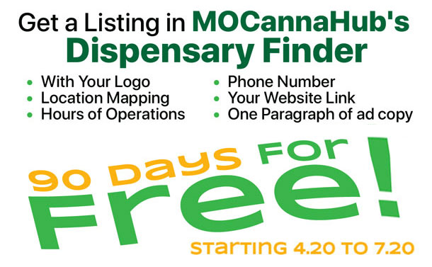 MOCannaHub: Calling All Open #MissouriDispensaries DM us email: sales@mocannahub.com with your: Address: Website: Store Hours: Phone#: Copy of your Logo (987px): A Paragraph about your business: And we'll post it on our #dispensaryfinder for FREE for 90 days #MOCannaHub #CannabisIndustry #FF