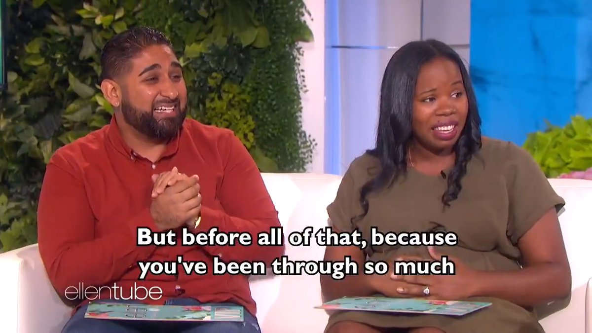 These incredible first-time parents were so deserving of a surprise.❤️