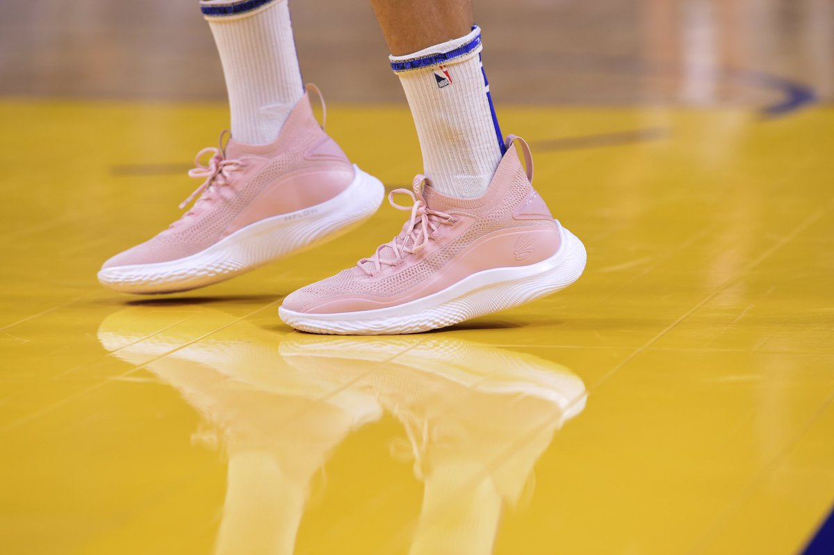 """My mother's dedication as a lifelong educator allowed me to grow into the person I am today, on and off the court. In honor of her influence the #Curry8 """"Class-y Flow"""" is here, bringing sport and education to the forefront to support the teachers who are inspiring our youth."""
