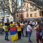 Image for the Tweet beginning: #EnImatges Concentració al Passeig de