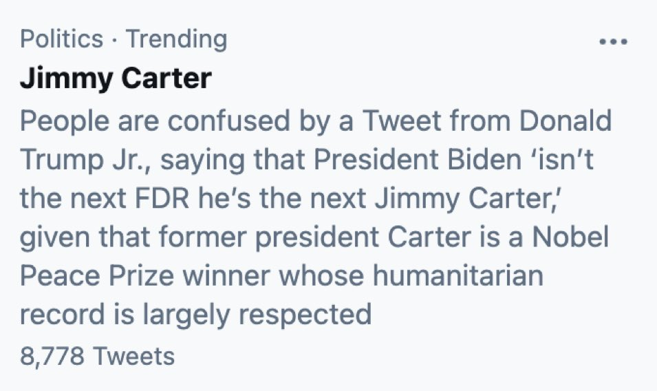 @ianbremmer's photo on Jimmy Carter