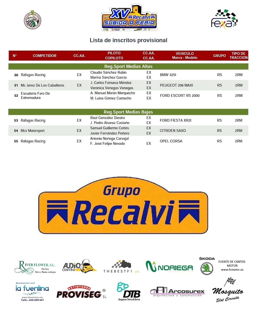 Campeonatos de Montaña Nacionales e Internacionales (FIA European Hillclimb, Berg Cup, BHC, CIVM, CFM...) - Página 43 E10TpVYXoAELObD?format=jpg&name=large