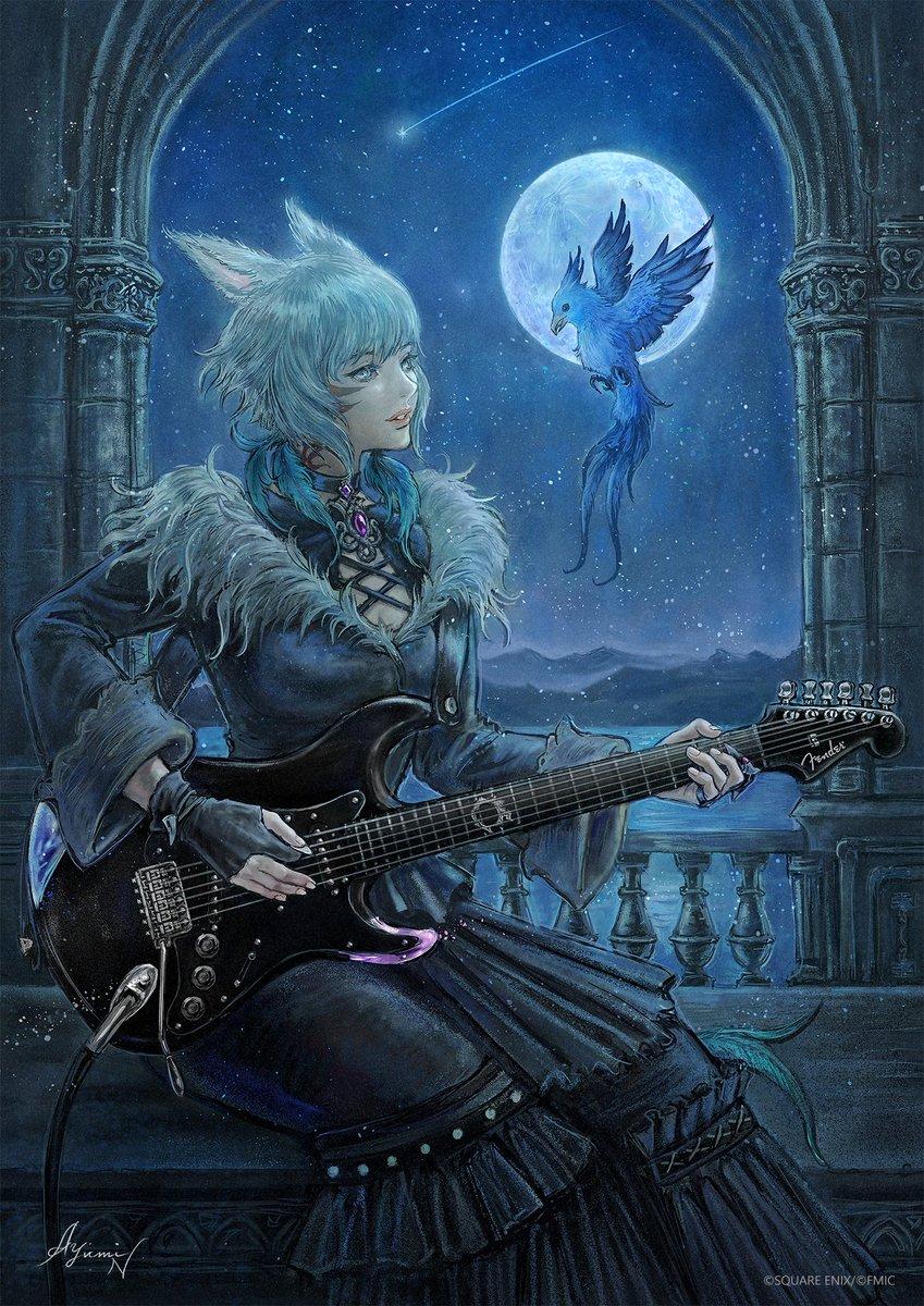 RT @FF_XIV_EN: y'shtola playing electric guitar send tweet https://t.co/yq2vwq4Lko