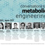 Image for the Tweet beginning: The conversation on metabolic engineering