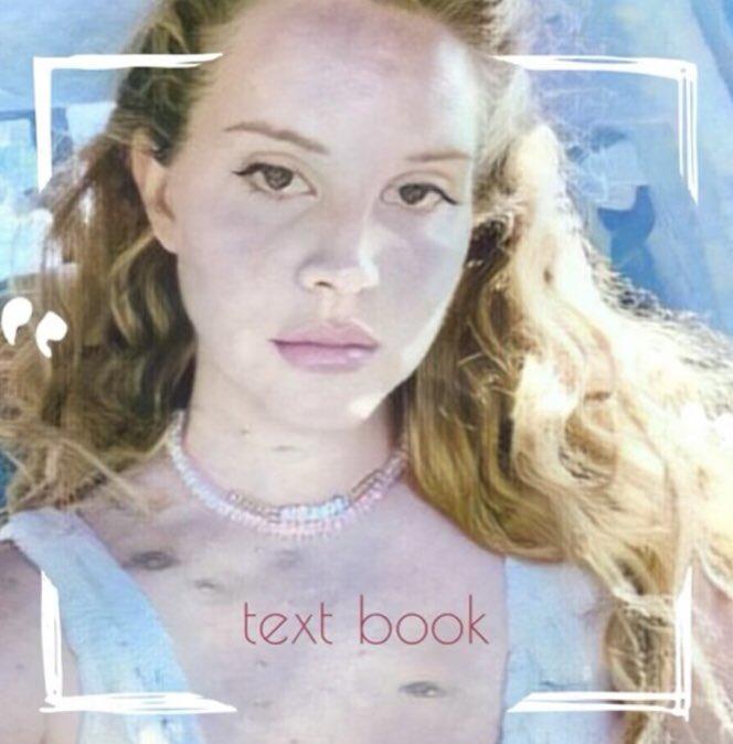 Lana Del Rey Text Book Lyrics