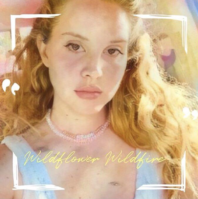 Lana Del Rey Wildflower Wildfire Lyrics