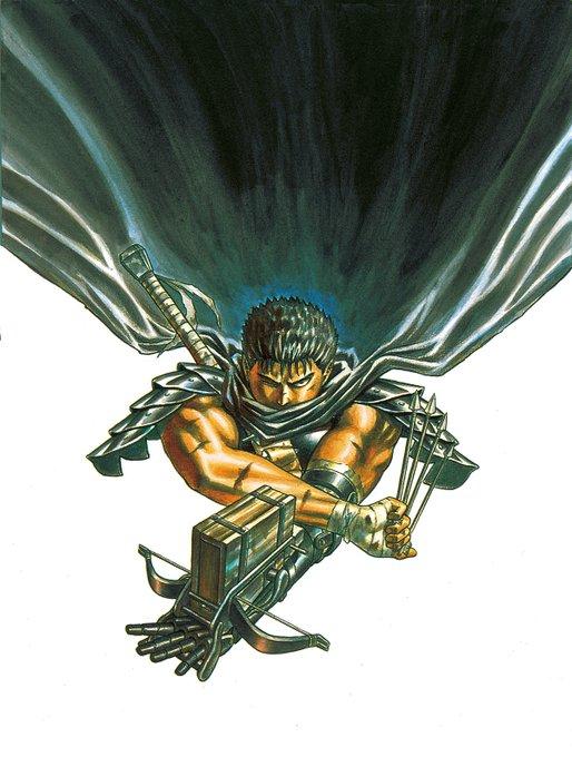 Berserk Vol. 1 cover art, Kentaro Miura