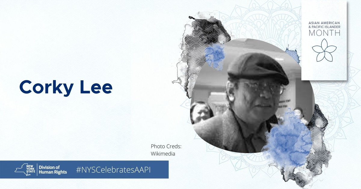 """DHR honors Corky Lee, a Chinese-American journalistic photographer, whose work focused on Asian American culture. For over 45 years, Corky documented many of the key moments of Asian American history while pursuing """"photographic justice.""""    #AAPIHeritageMonth. #NYSCelebratesAAPI https://t.co/f3zRO1vVSk"""