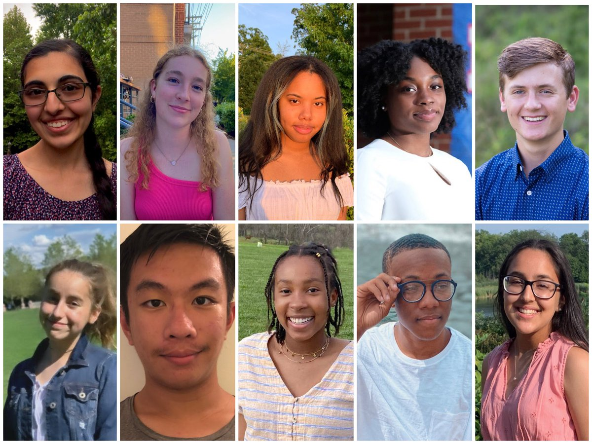 I can't wait to get to work with these awesome and diverse group of young people! https://t.co/gKCHAgN03t