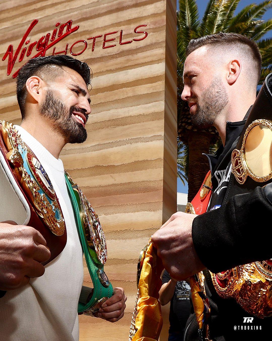 José Ramírez califica de falso e hipócrita a Josh Taylor.